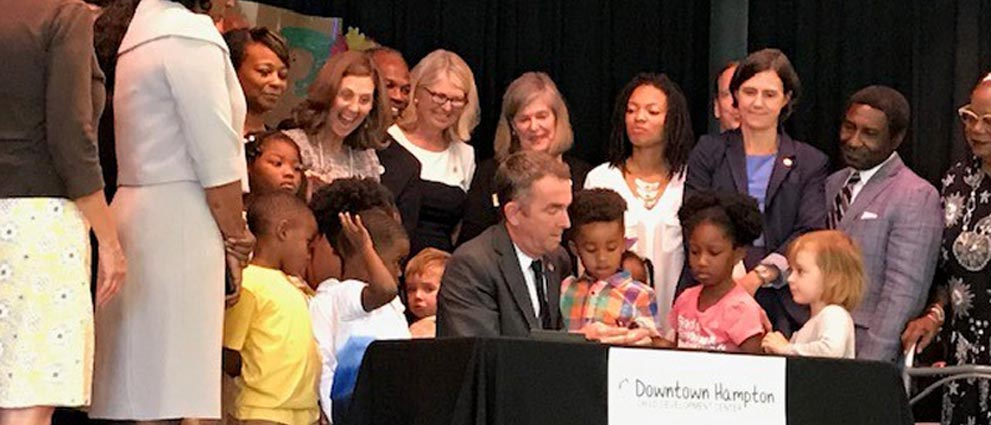 Governor Northam signs Executive Directive